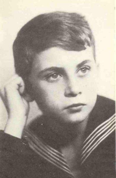 K.K Baczyński w wieku szkolnym